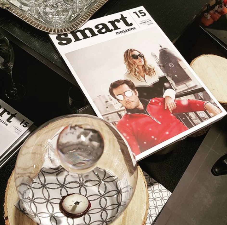 Magazine smart numero 15 couverture